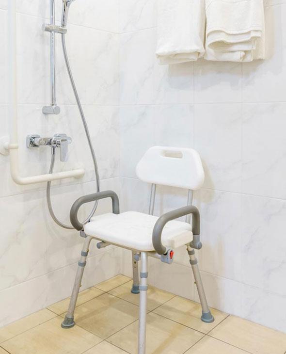 Adaptation de la salle de bains
